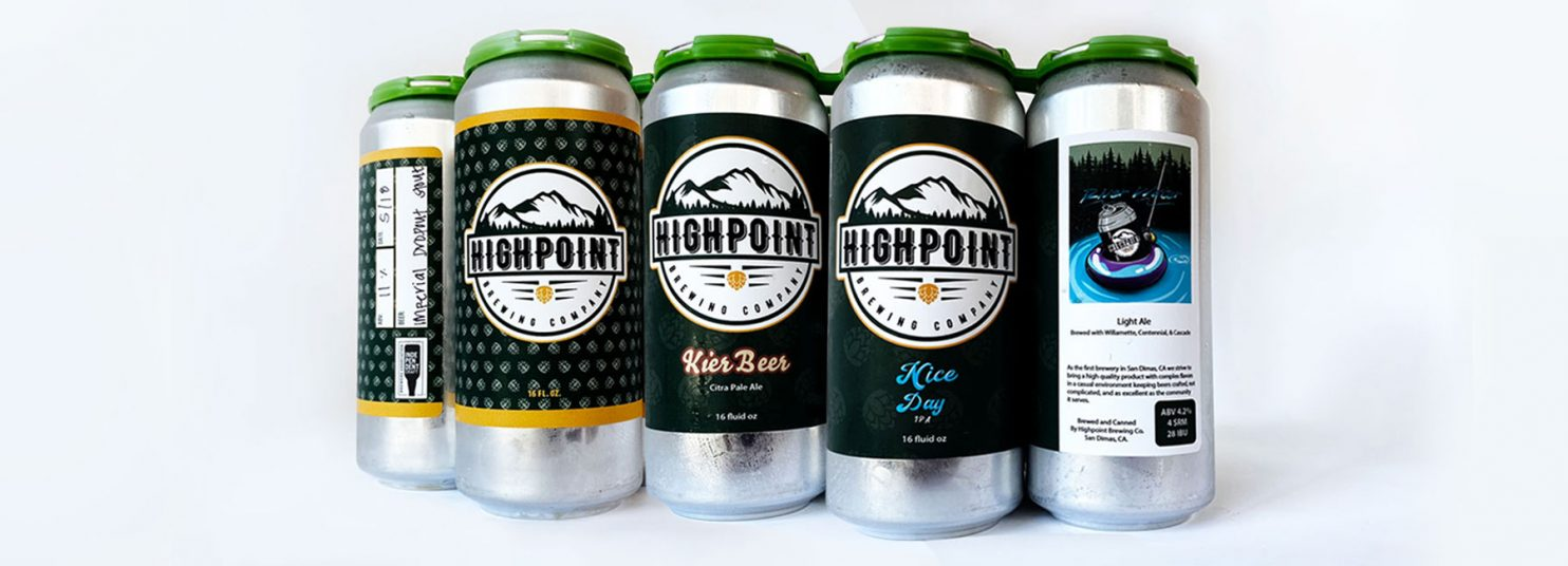 Highpoint Brew Co Beers
