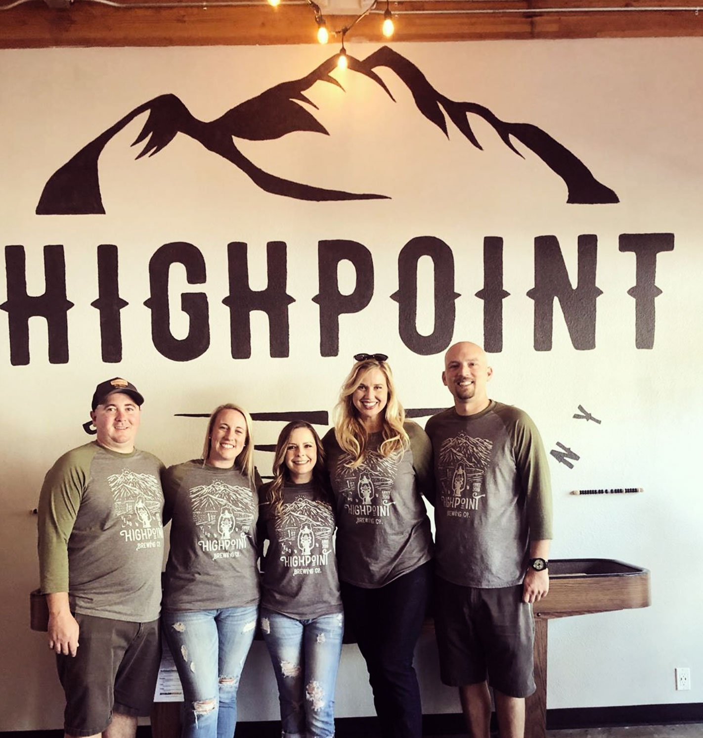 Highpoint Brewing Company Team