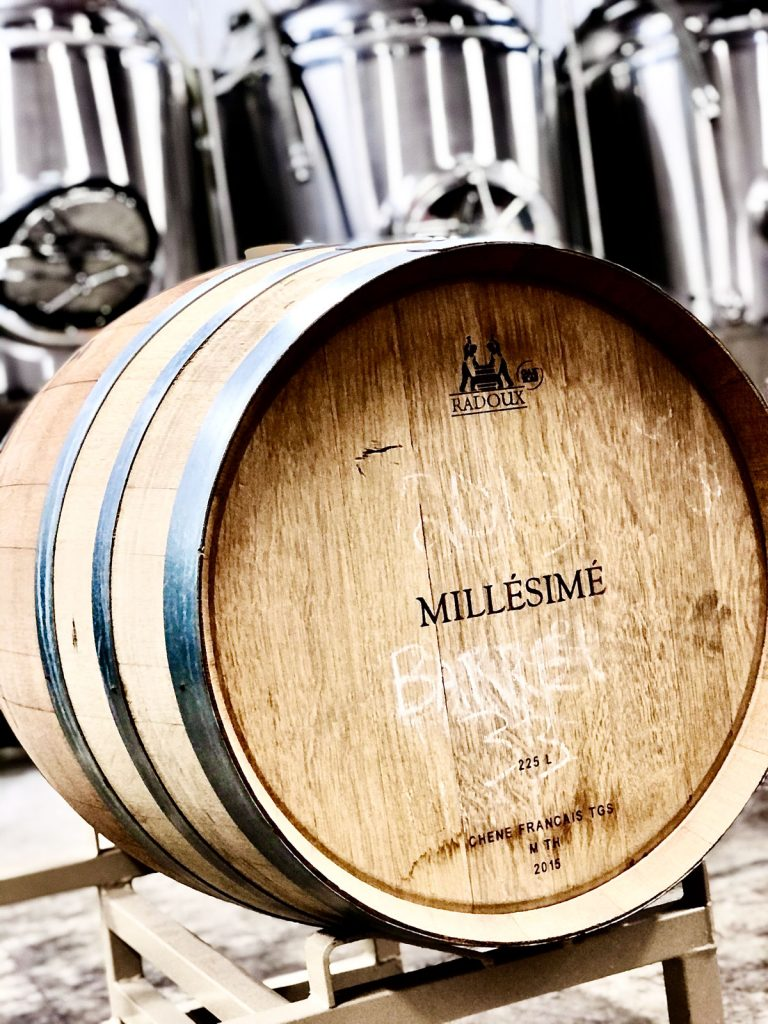 2 year Anniversary - 1 Year Aged Belgian Strong Ale in a Red Wine Barrel