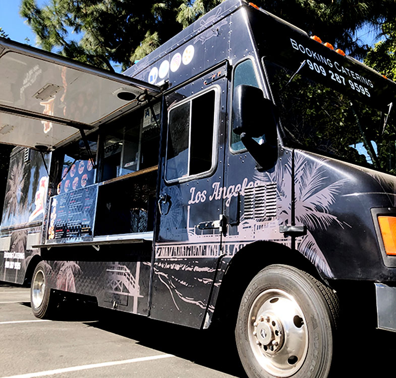 District Burger Food truck at Highpoint Brewing Co.