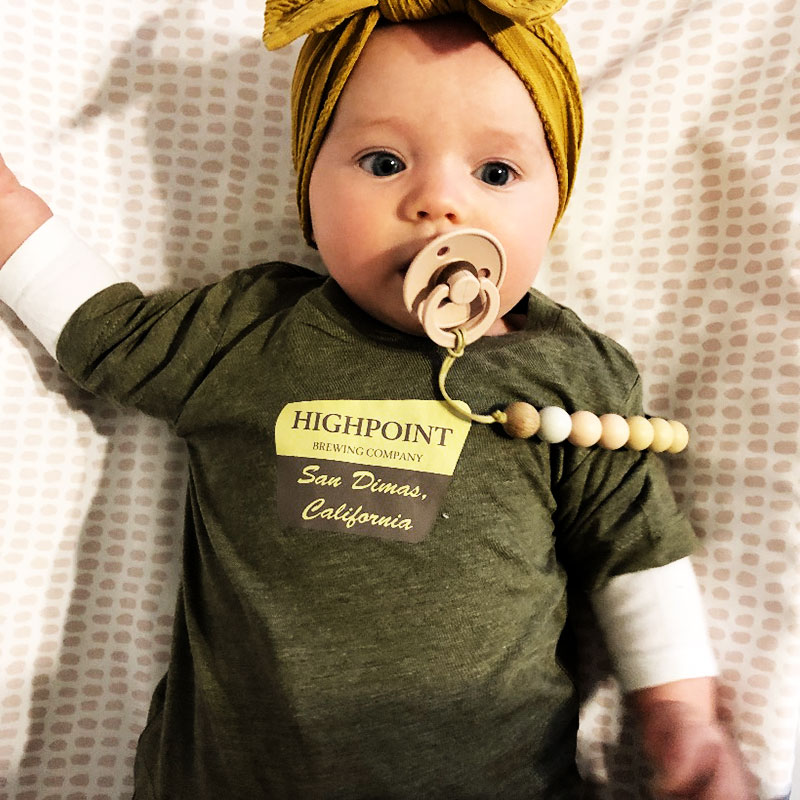Online Happy Hour - Merch Monday - Highpoint Baby T -ShirtHighpoint Brewing Co.